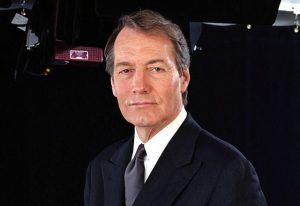 charlie rose anchor in a suit