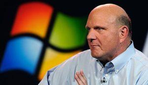 Steve Ballmer as Microsoft CEO