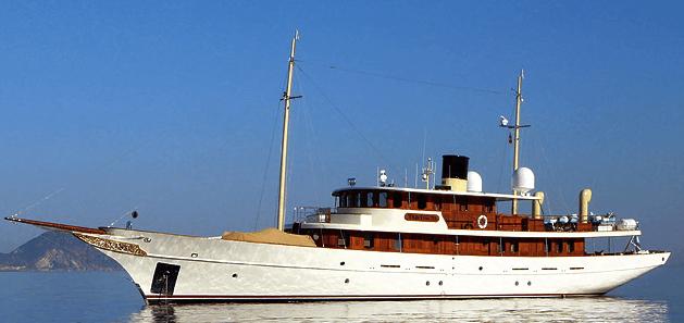 Johnny Depps Yacht Vajoliroja