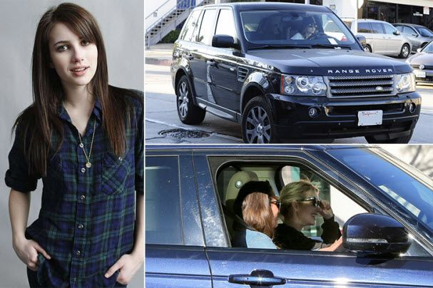 Emma-Roberts-cars