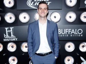 Cooper Hefner at an award show