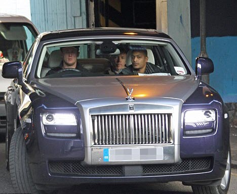 guy ritchie rolls royce car