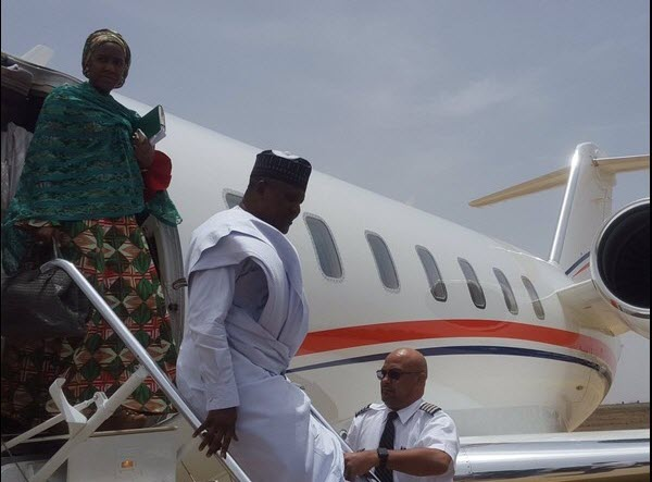 aliko-dangote-private jet