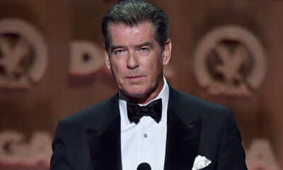 Pierce Brosnan Net Worth speaking at the 67th Annual Directors Guild of America Awards