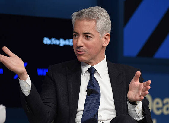 Bill Ackman Net Worth speaks at The New York Times DealBook Conference at Jazz at Lincoln Center on November 10, 2016 in New York City.