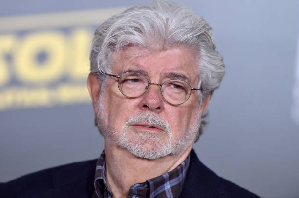 Filmmaker George Lucas arrives at the premiere of Disney Pictures and Lucasfilm's 'Solo: A Star Wars Story' at the El Capitan Theatre on May 10, 2018 in Hollywood, California.