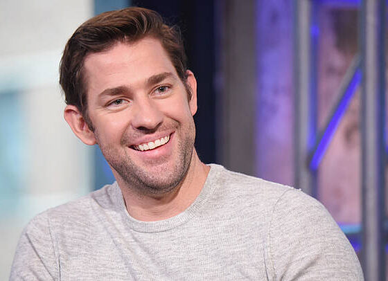 "Actor and Director John Krasinski attends the AOL Build presentation of the cast of ""The Hollars"" at AOL HQ on August 17, 2016 in New York City."