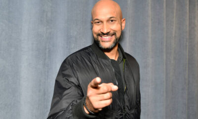 Keegan MIchael Key Net Worth visits SiriusXM Studios in NYC