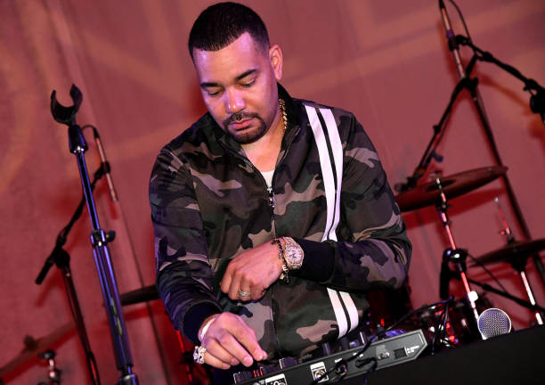 DJ Envy spinning at Amazon Music's One Love Party
