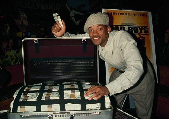 Will Smith getting paid